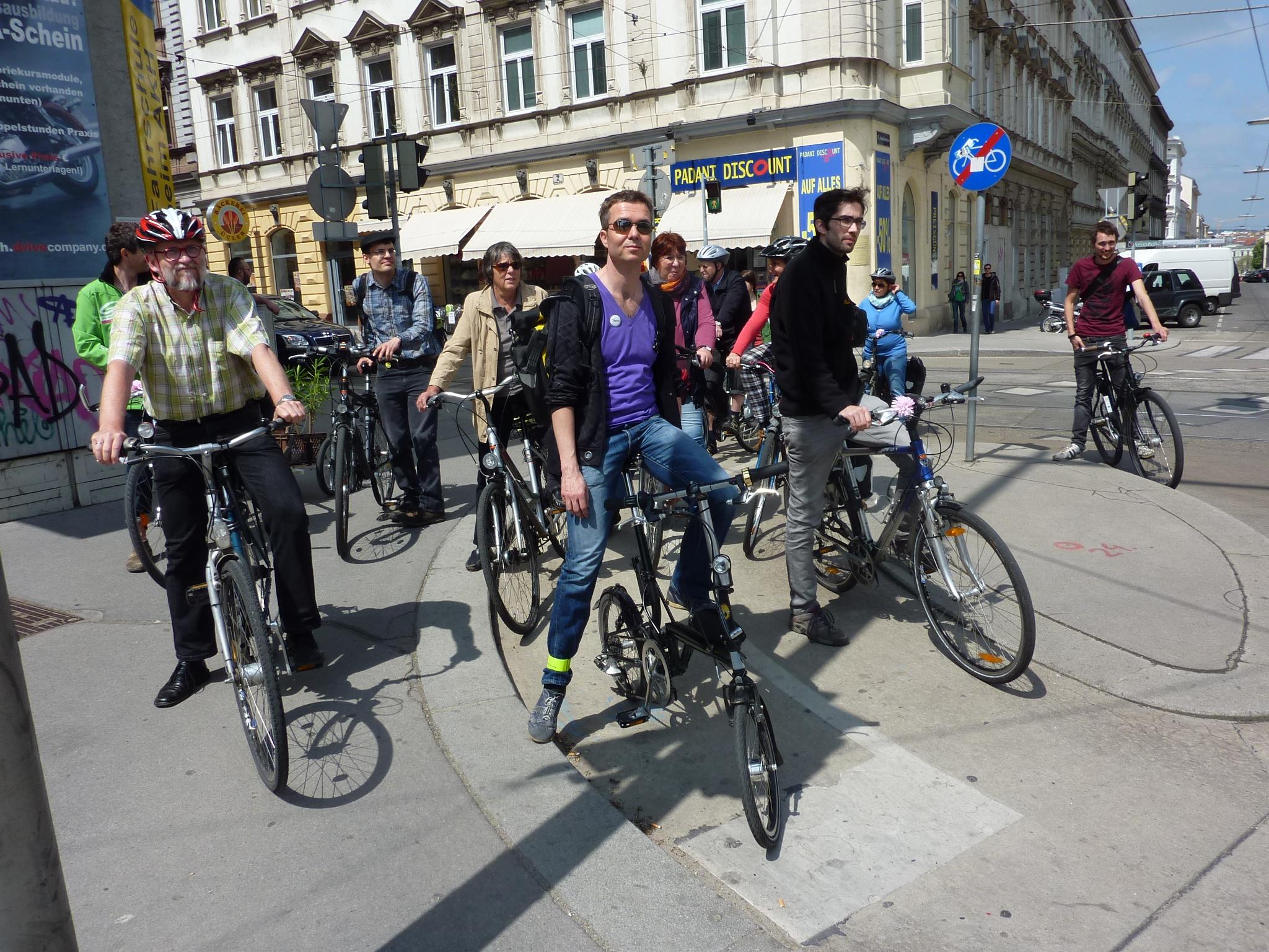 Mehr Fahrrad für Währing