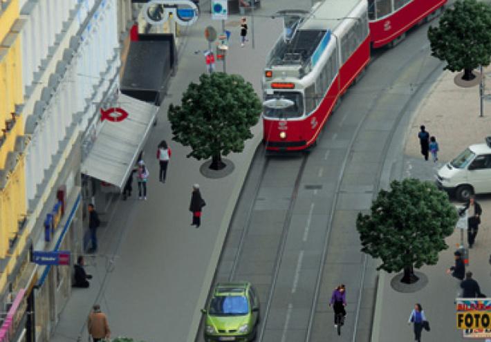 Unsere Währinger Straße ins 21. Jahrhundert bringen